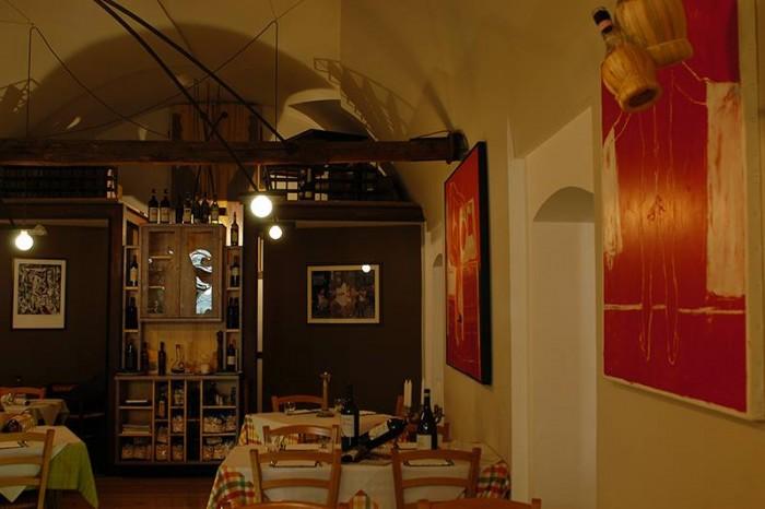 Taverna Scacciaventi, l'interno