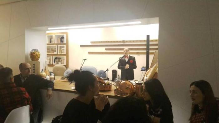 Una serata in stile Dolce Vita al Pari Biosteria, il prof. Eugenio Luigi Iorio
