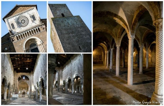 alcune bellezze artistiche di Tuscania