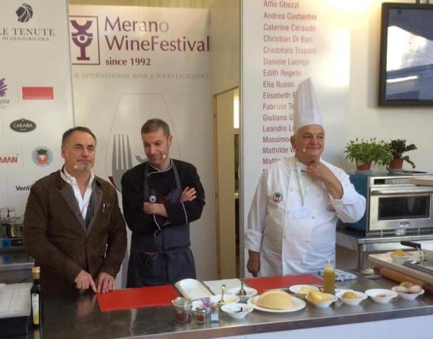 Daniele Luongo protagonista a 'Culinaria'