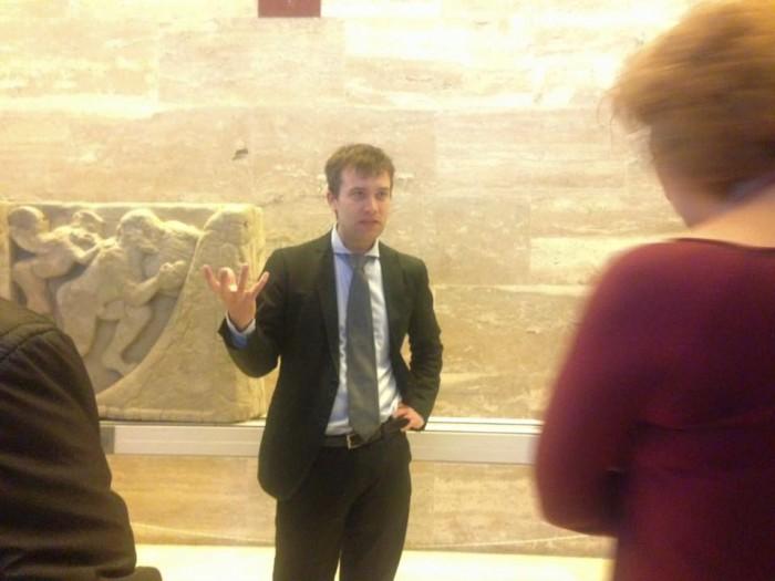 la visita guidata col direttore Gabriele Zuchtriegel
