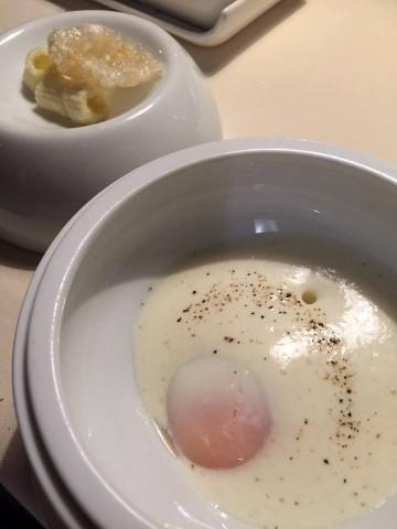 Metamorfosi, l'uovo carbonara