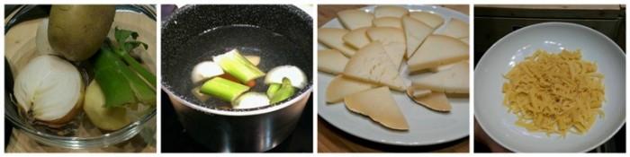 pasta e patate con Provolone del Monaco, gli ingredienti