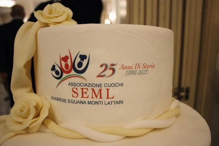 25 anni seml, torta