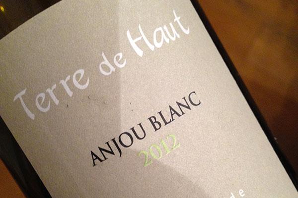 Anjou Blanc Terre de Haut 2012 Domaine de Bois Mozé