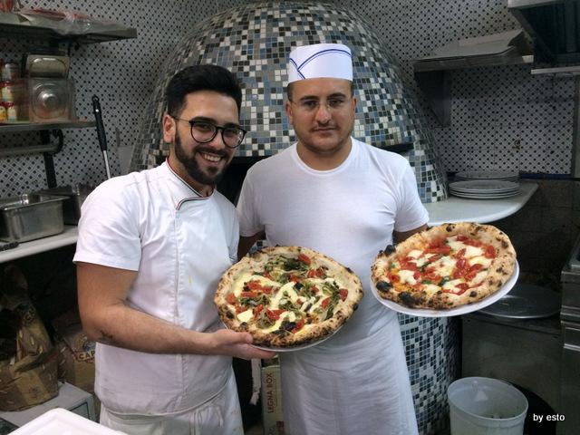 Antonio & Antonio Via Crispi Enzo Bastelli con Pasquale Di Mare