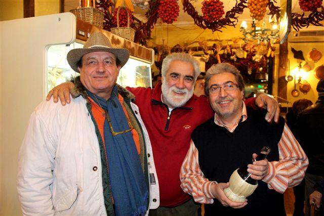 Antonio Ruggiero con Berardino Lombardo e Luciano di Meo