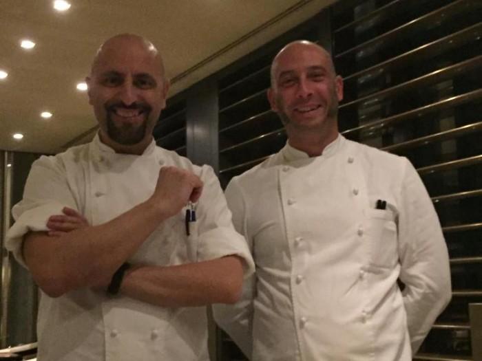 Armani, gli chef