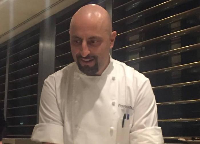 Armani, lo chef Filippo Gozzoli