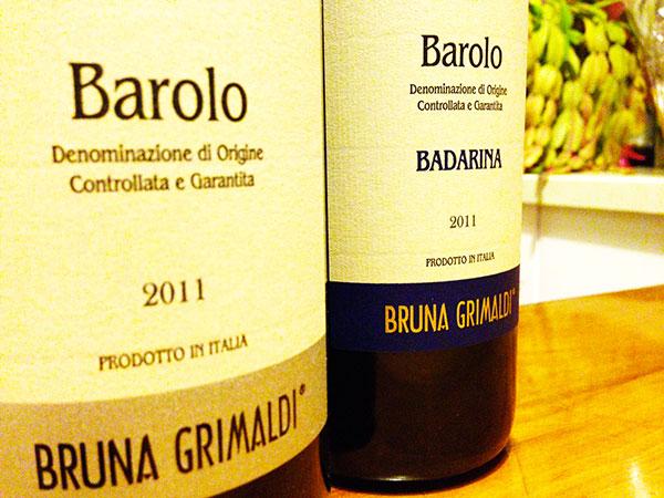 Barolo Badarina 2011 Grimaldi Bruna