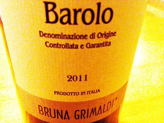 Barolo Camilla 2011 Grimaldi Bruna