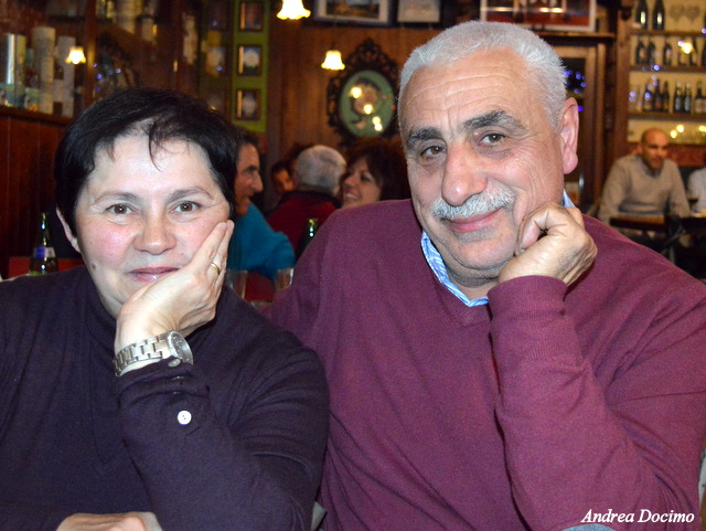 Birra&Baccalà. La coppia più bella del mondo, i coniugi Borrillo.