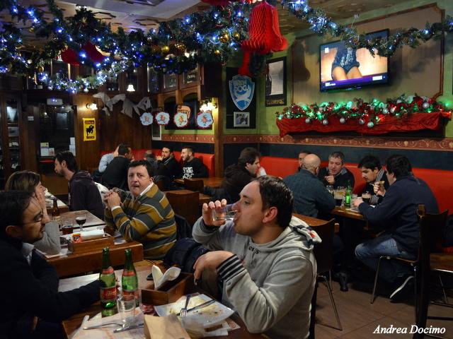 Birra&Baccalà. L'atmosfera all' Ottavonano di Atripalda.