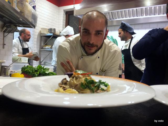 Braceria Bifulco. Spaghetti al pomodoro giallo