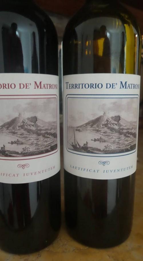 Cantine Matrone, i vini
