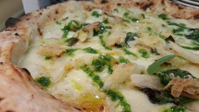 Carmine Granato Pizza con mussillo alla brace