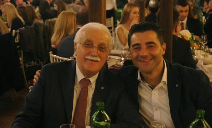 Casale dei Baroni. Il prof. Giorgio Calabrese e lo chef    Giuseppe Daddio