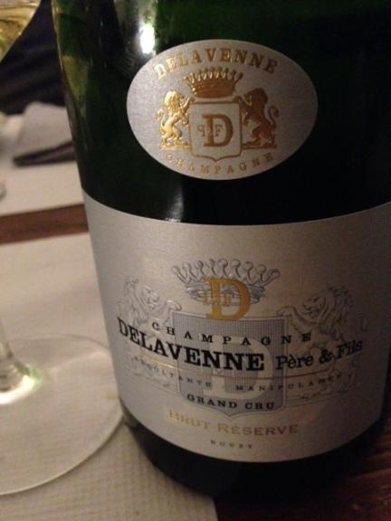 Champagne Brut Reserve Grand Cru Delavenne Pere e Fils