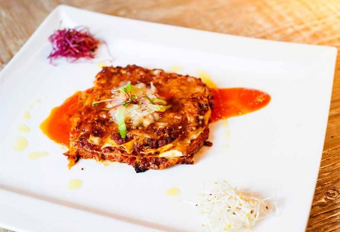 CucinAtipica Osteria Creativa, la lasagnetta