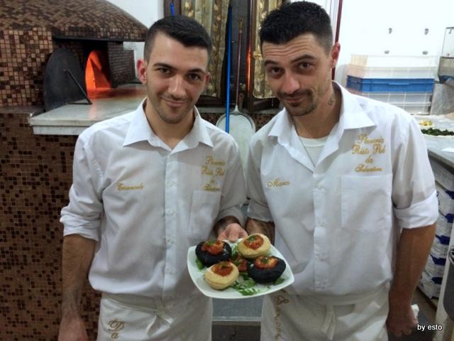 Da Salvatore. Emanuele  e Marco Marigliano Pizza Montanarine