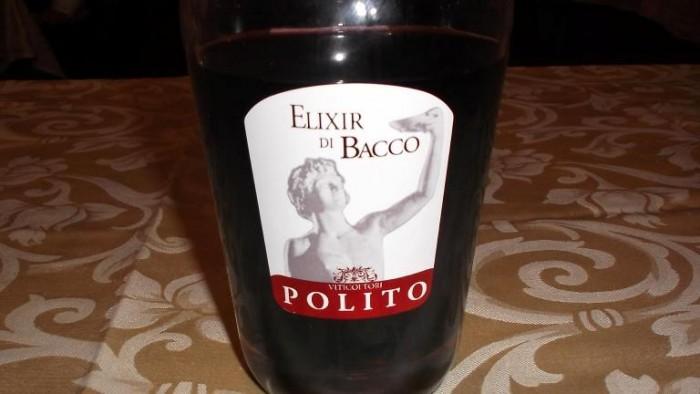 Elixir di Bacco Vini Polito