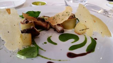 Essenza, polpo e patate