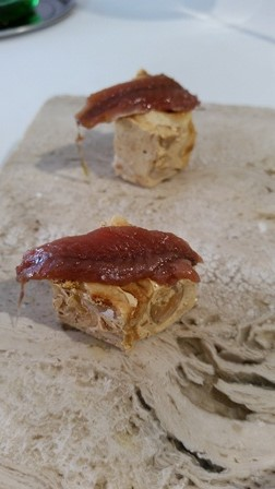 Essenza, torrone e alici del Cantabrico