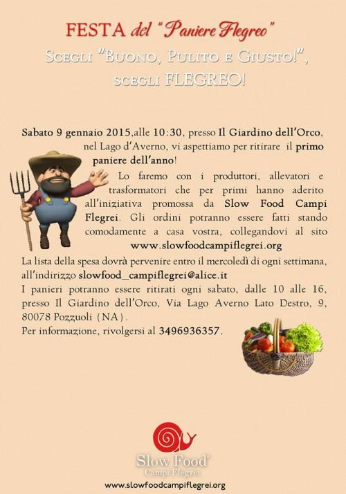 """Festa del """"Paniere Flegreo"""" al Giardino dell'Orco di Pozzuoli"""