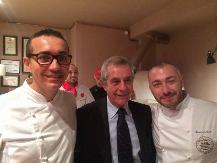 Gino Sorbillo Carmine Caputo e Gennaro Nasti