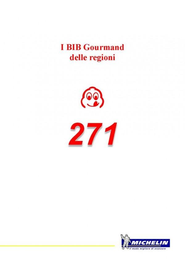 Guida Michelin 2016, i Bib Gourmand delle regioni