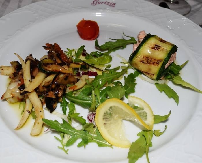 Il benvenuto dello chef di Gorizia