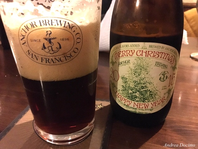 La Anchor Christmas Ale di Anchor Brewing.