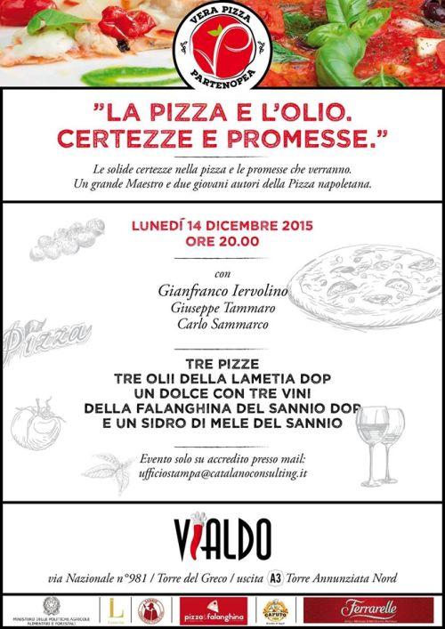 """""""La Pizza e l'Olio. Certezze e Promesse"""" a Palazzo Vialdo"""