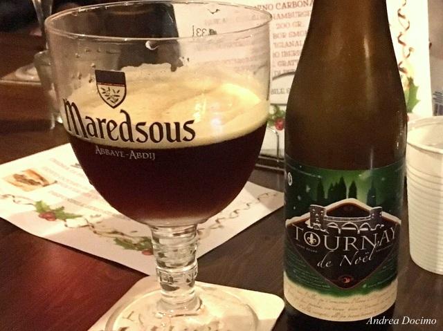 Tournay de Noël di Brasserie de Cazeau (Belgian Strong Dark Ale da 8.2% abv.)
