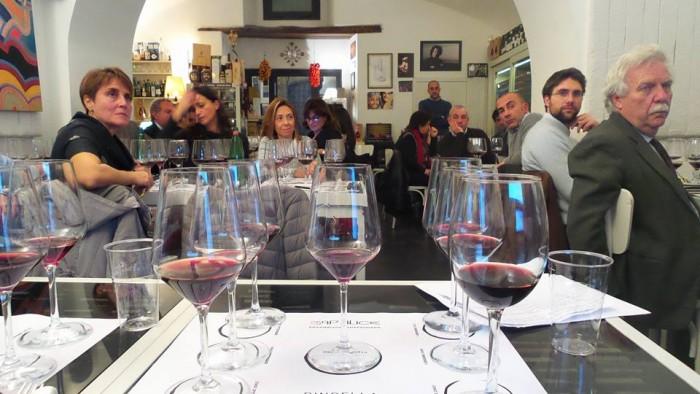 La degustazione dei vini Nobile di Montepulciano Bindella a Cap'alice