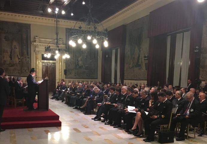 Le 100 eccellenze italiane, un momento della premiazione
