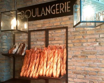 Le Carré Français, baguette in esposizione
