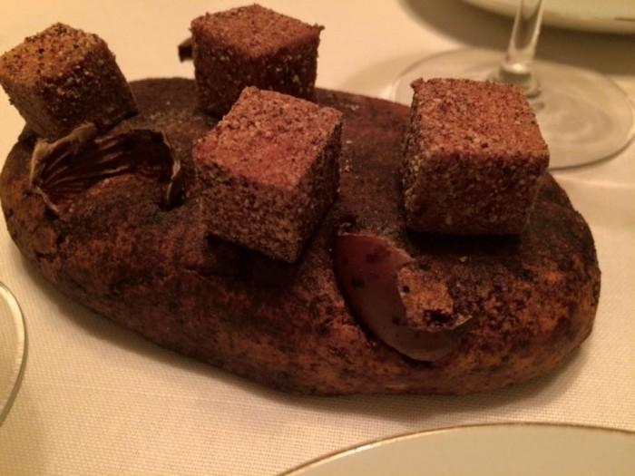 Ledoyen, marshmallow di castagne