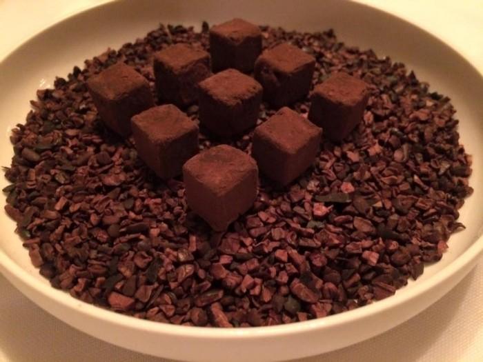 Ledoyen, piccola pasticceria, cacao puro