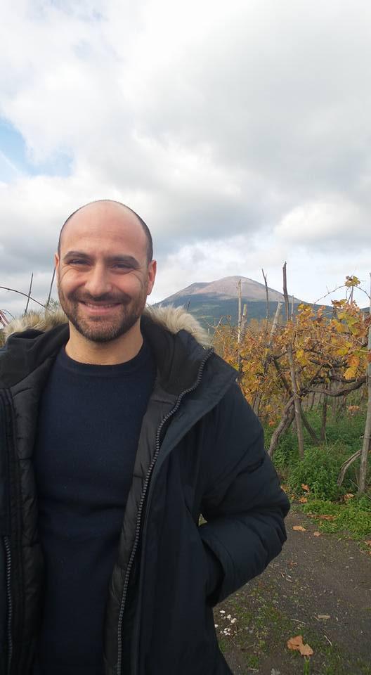 L'enologo Andrea Matrone