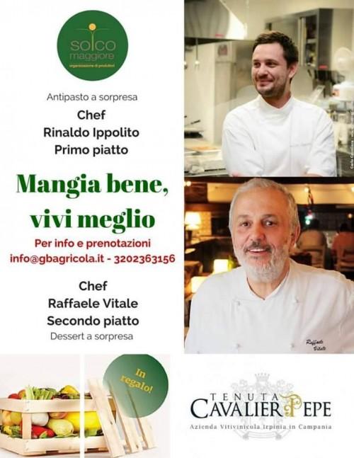 Mangia bene, vivi meglio, Rinaldo Ippolito e Raffaele Vitale