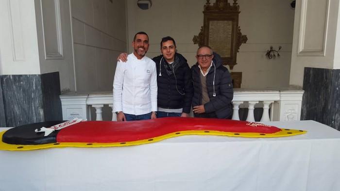Marco, Fabio e Patrizio Infante delle pasticcerie Leopoldo dal 1940