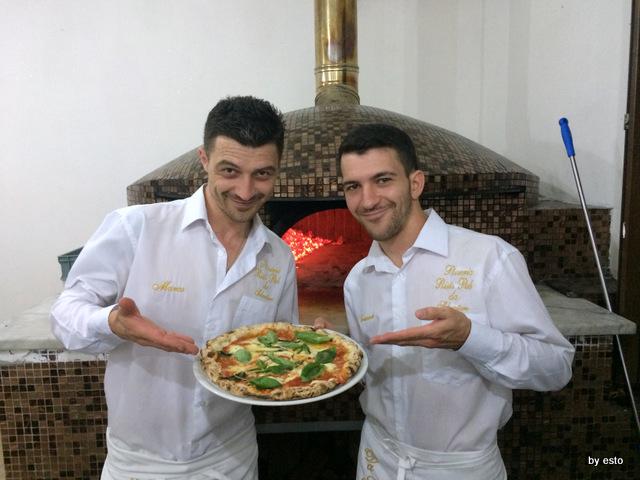 Da Salvatore. Marco ed Emanuele Marigliano, Il forno
