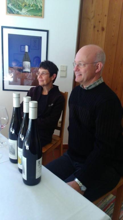 Martin Aurich con la moglie Gisela