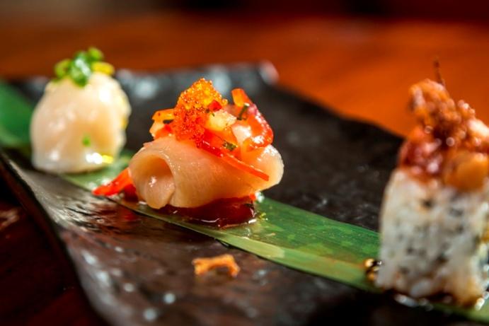 Me Geisha a Roma, Sushi Trio