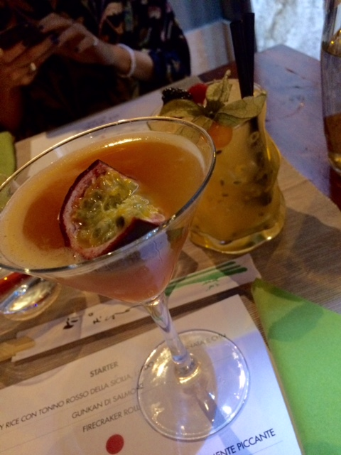Me Geisha a Roma, cocktail