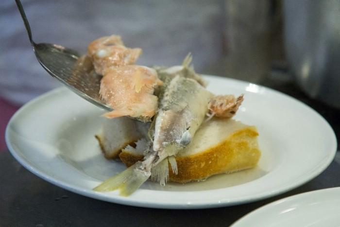 O'Carere riprodotto nella cucina di Nicola Buono de La Fattoria del Campiglione