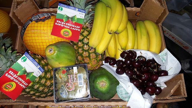 Osteria La Chitarra. Frutta di Generoso De Luca di Palma Banane