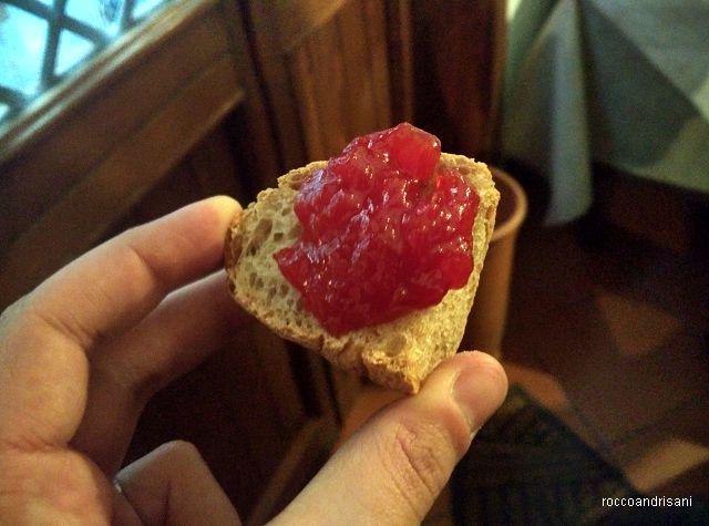 Osteria La Chitarra. Pane e marmellata di San Marzano Agrigenus