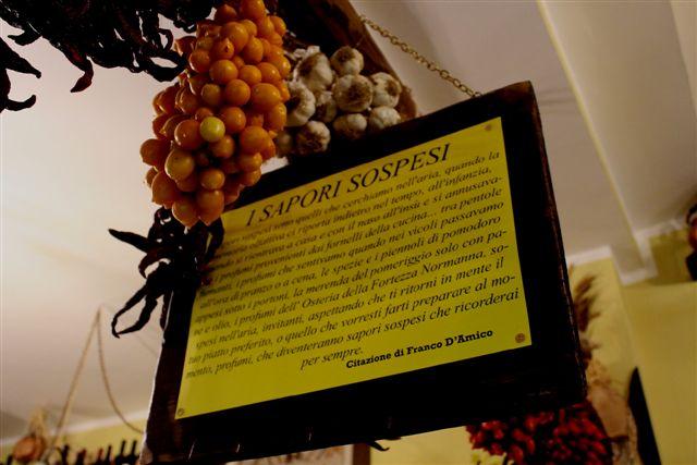 Osteria del Baccalà a Frosinone, I Sapori Sospesi